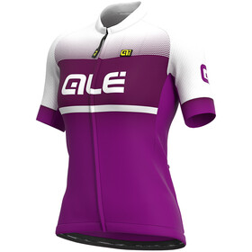 Alé Cycling Solid Blend Jersey Korte Mouwen Dames, cyclamen/purple
